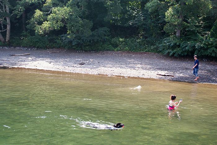 野尻湖で泳ぐということ(その1)